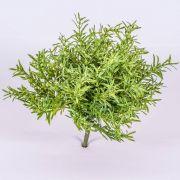 Arbusto de romero artificial JOSHUA, en vara de fijación, verde, 20cm, Ø15cm