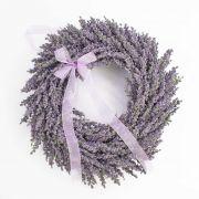 Corazón de lavanda textil YLVIE, violeta, Ø40cm