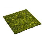 Estera de musgo hypnum artificial FERMIN, verde, 100x100cm
